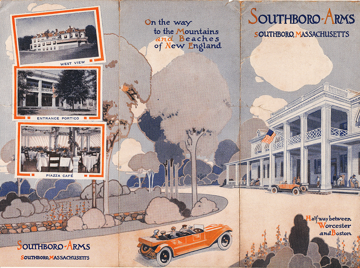 20s Travel Brochure for the Southboro Arms