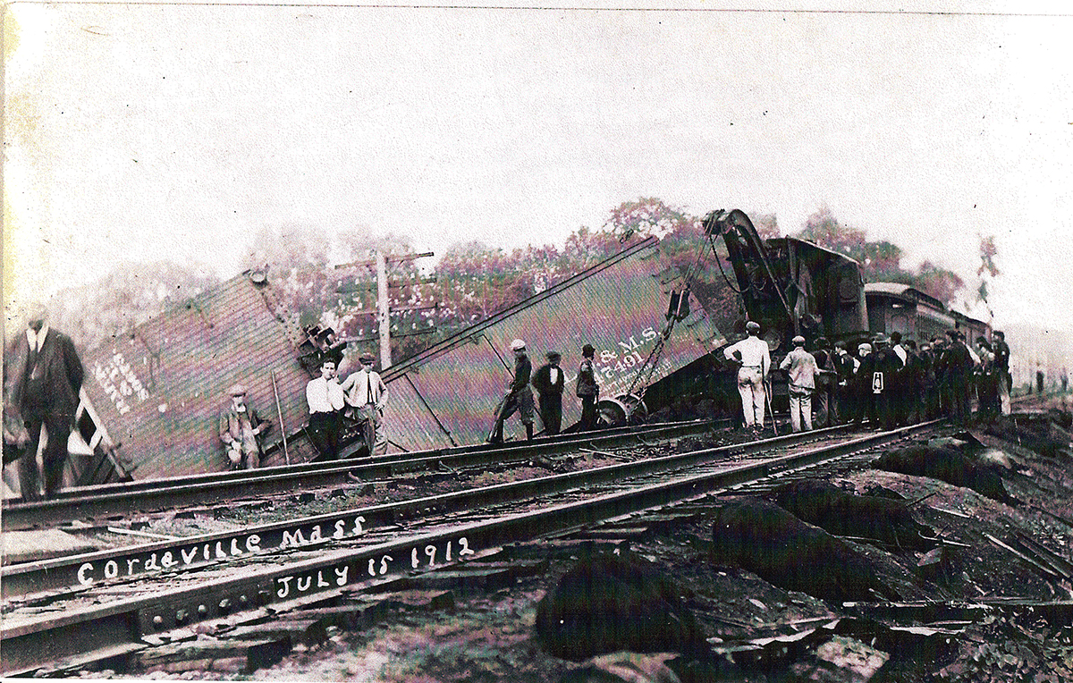 July 15 1913 Wreck on the B&A