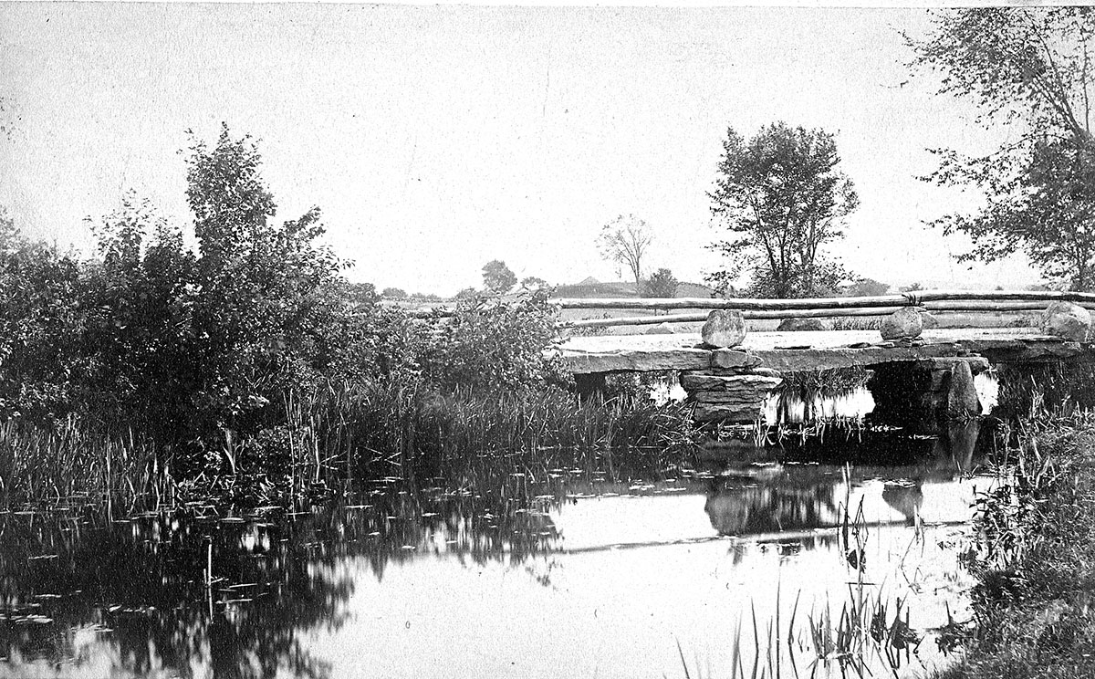 Bridge on Deerfoot Farm
