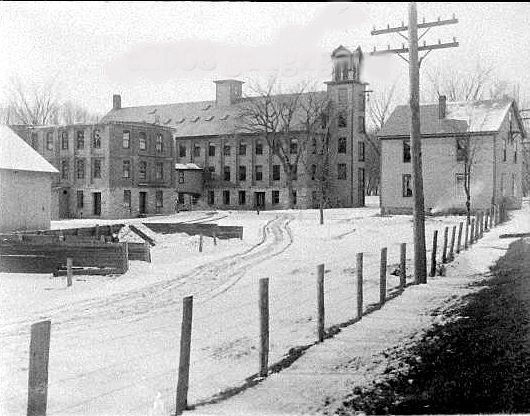 The Cordaville Woolen Mill about 1900