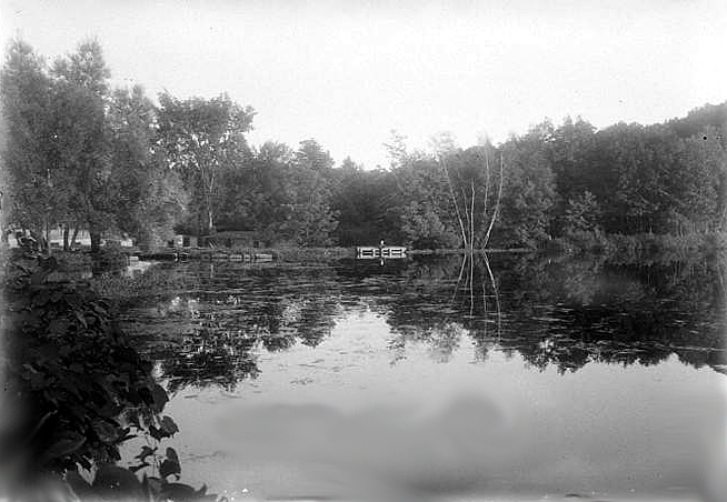 Another view of the mill pond