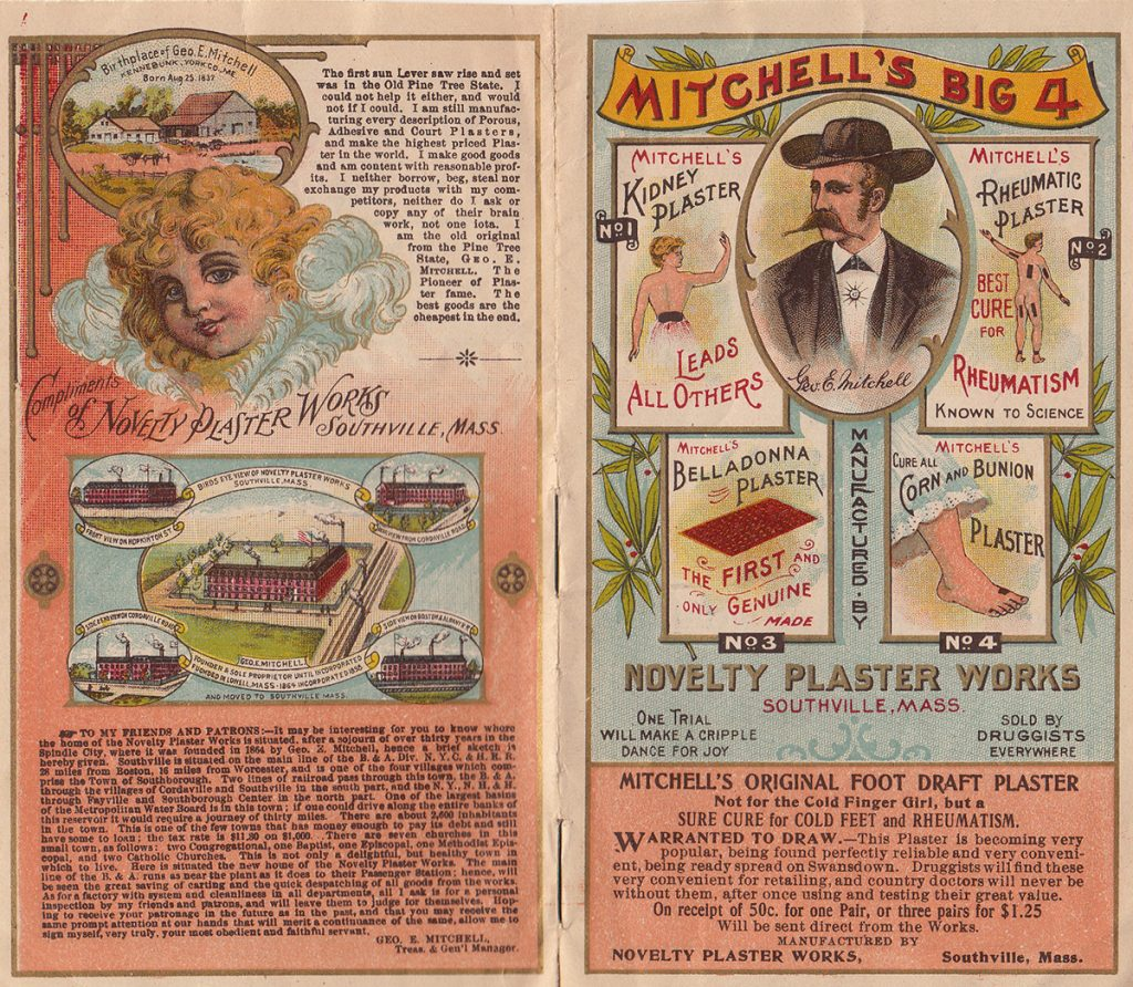 Mitchell's Plasterworks Brochure
