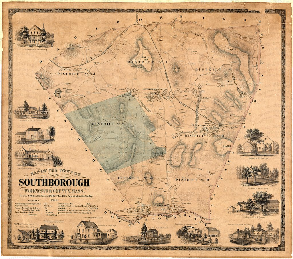 southborough 1854 map .5