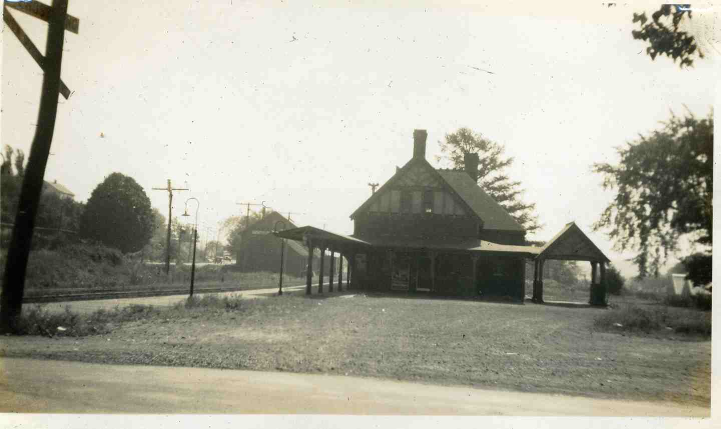 Southborough Station in the 1930