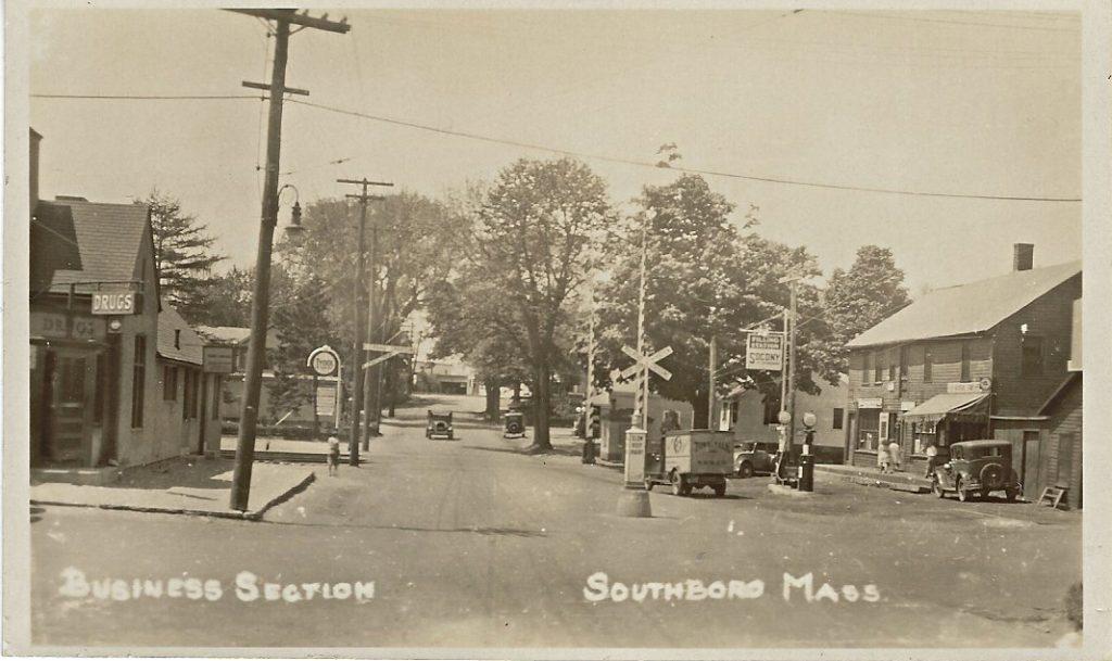 Main Street Southborough 1930s