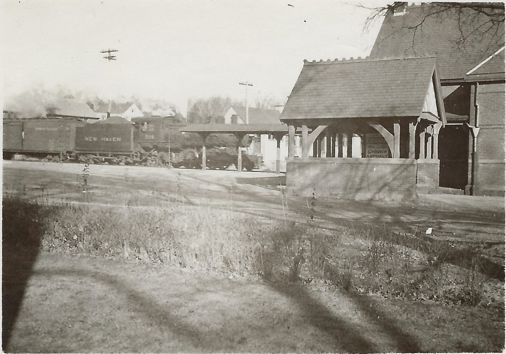 Southborough Station and Train, 1930s