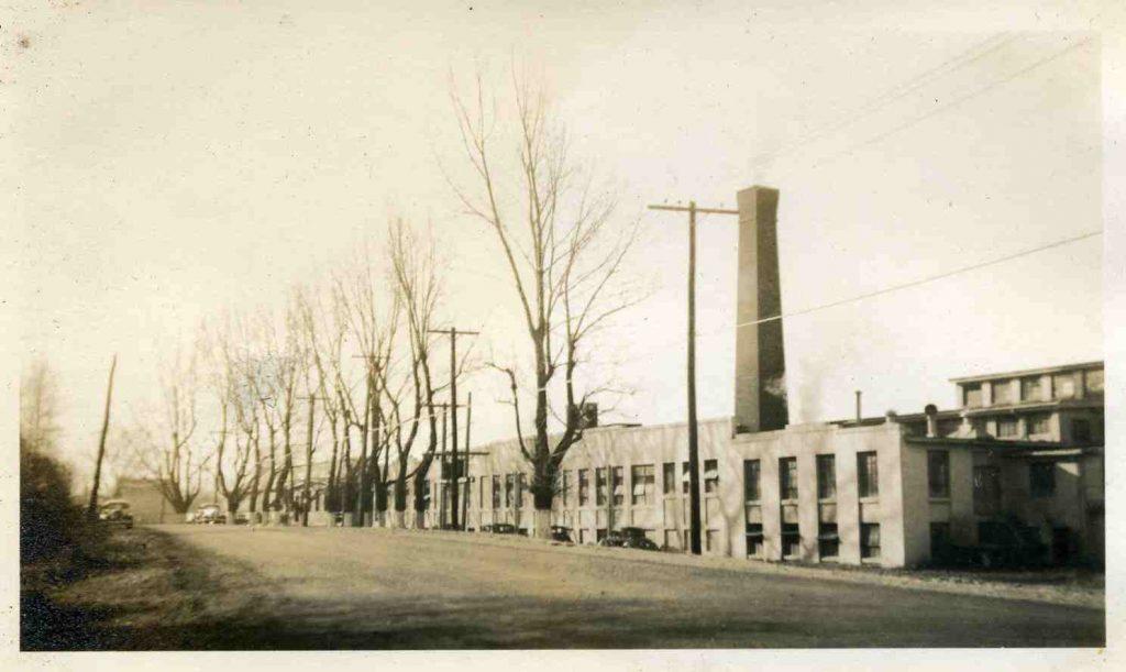 The Deerfoot Farms Plant on Newton Street
