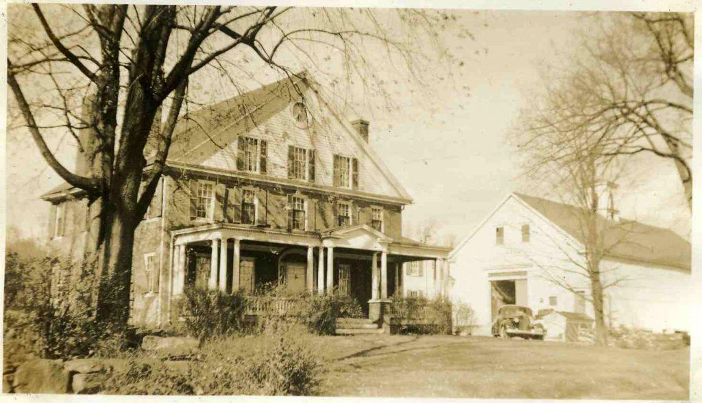 The Eaton House on Flagg Road