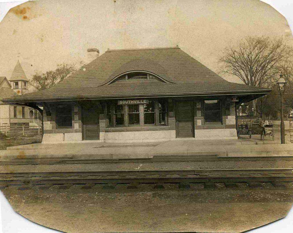 The Cordaville Train Station