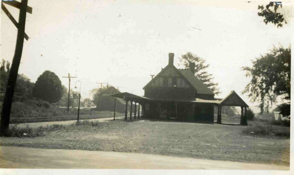 The Southborough Train Station