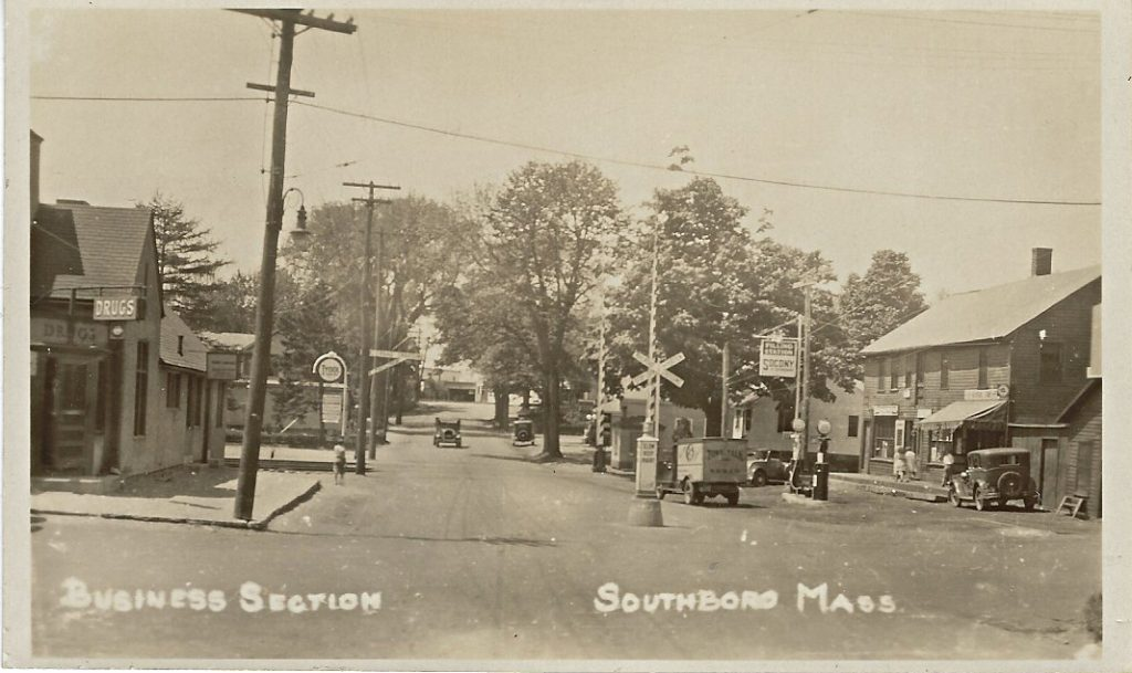 Main Street Southborough 1930s